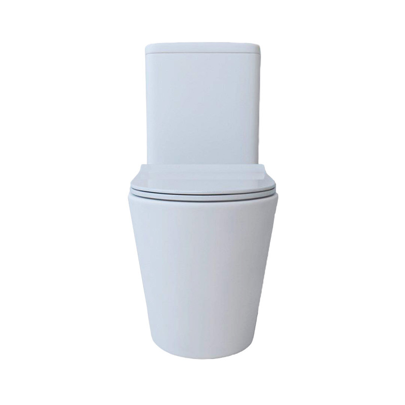 Tornado Silent High End Back To Wall Ceramic Toilet Suite TS2388A
