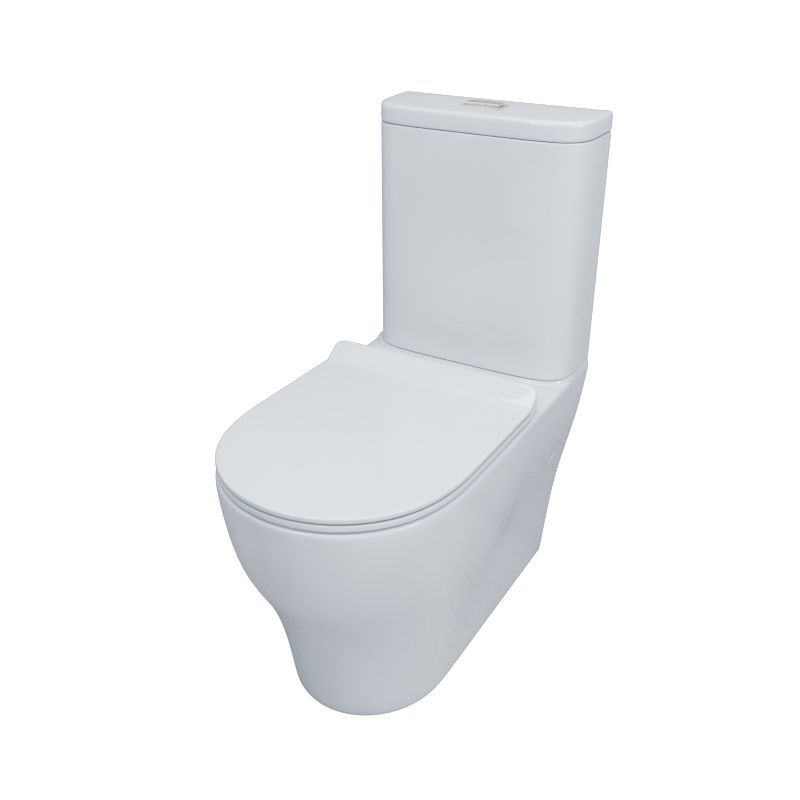 Tornado Silent High End Back To Wall Ceramic Toilet Suite TS2392A