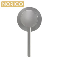 Norico Round Brushed Nickel Shower/Bath Wall Mixer Solid Brass