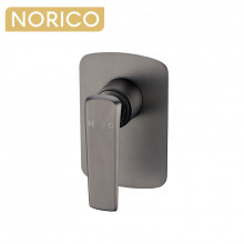 Norico Esperia Gunmetal Grey Solid Brass Wall Mounted Mixer for shower and bathtub